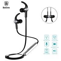 Baseus B11 Magnet Wireless Bluetooth Tai Nghe Headphone Cho iPhone 7 Samsung Thể Thao Chạy Stereo Hifi Với Mic Trong tai Nghe ear