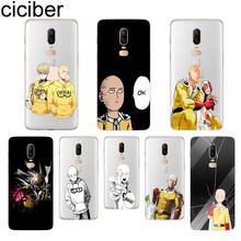 ciciber One-Punch Man Phone Case For Oneplus 7 Pro 6 5 T Soft TPU Back Cover Clear Coque for 1+7 Pro 1+ 6 1+5 T Fundas Shell