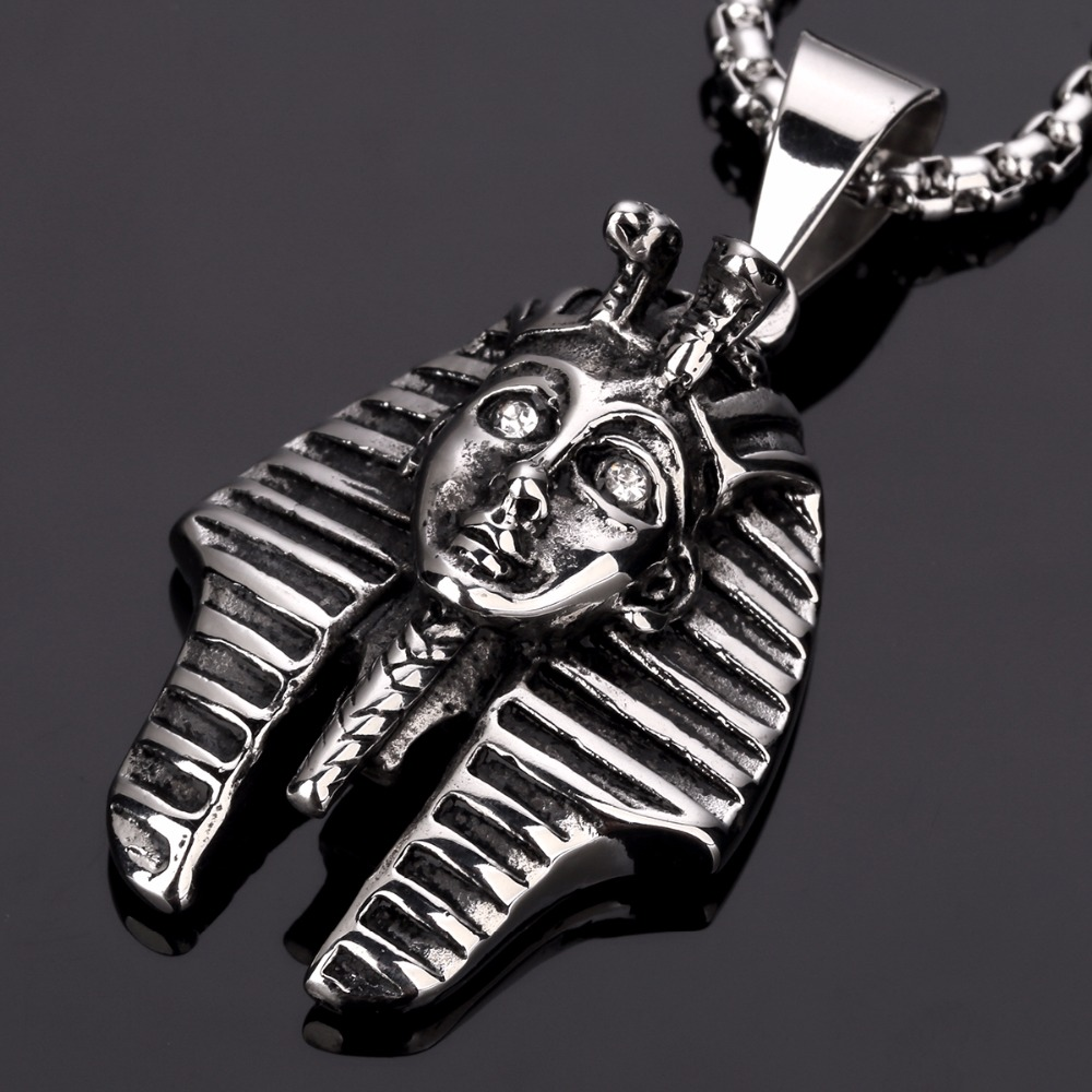 Top-quality Pharaoh hip hop chains for men Crude chunky Pendant Necklace  Chains bling Jewelry last kings vintage c0e1f1f7bf68
