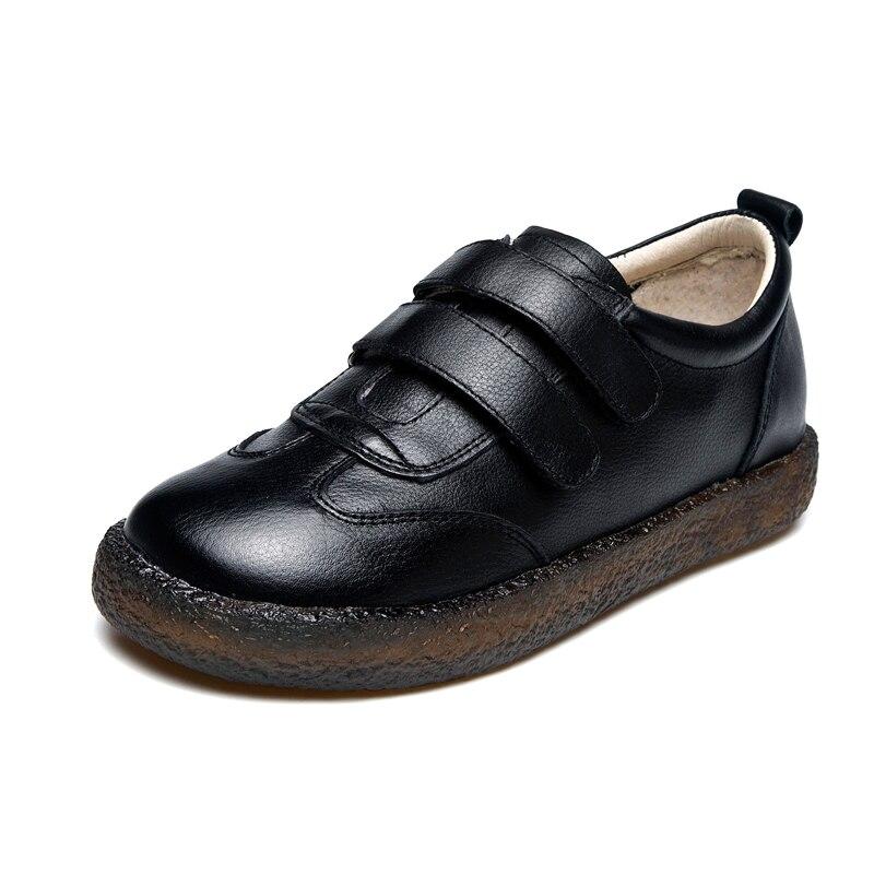 GKTINOO 2019 ファッション女性の靴革ローファー女性カジュアルシューズ手作りソフトで快適なシューズレディースフラッツ  グループ上の 靴 からの レディースフラット の中 2