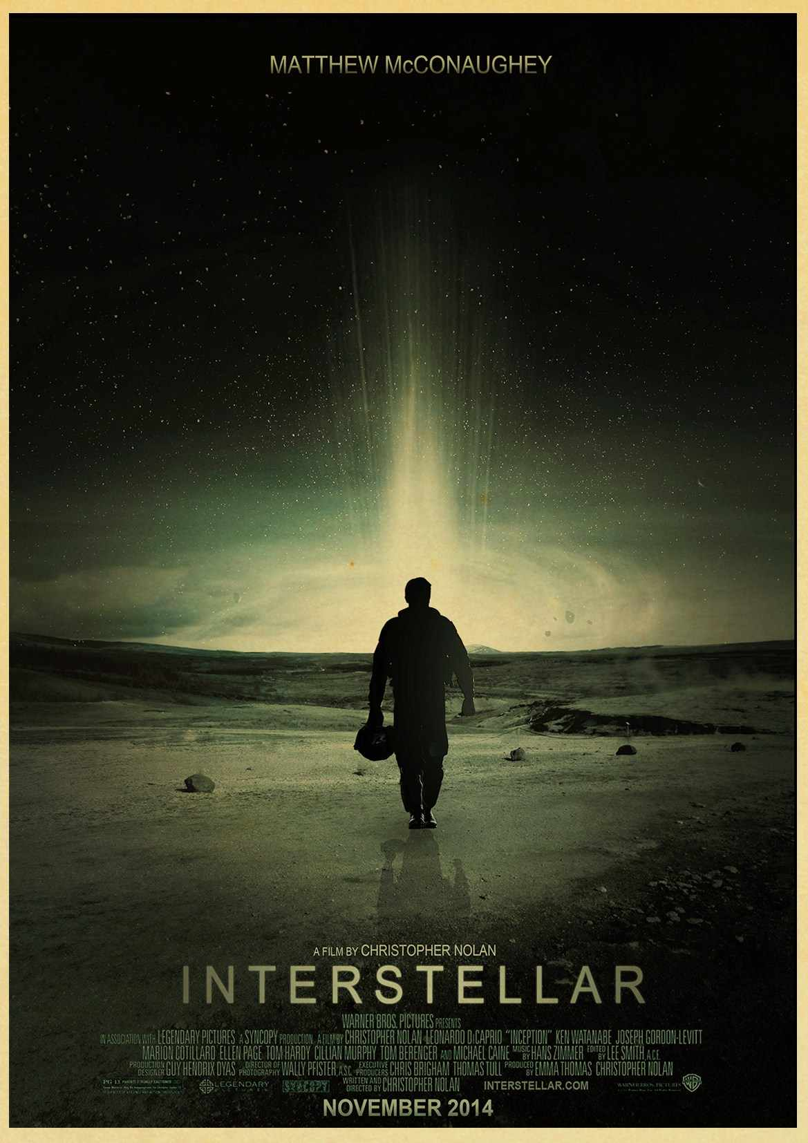 Home Decor Interstellar Poster Classic Movie Interstellar