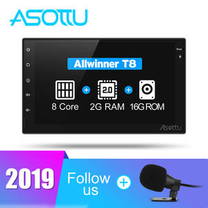 Asottu CWD7060 2G android 8.1.2 car dvd gps navigation radio video player stereo