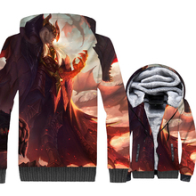 LOL 3D Print Hoodie Men Game Hooded Sweatshirt 2018 New Brand Winter Thick Fleece Warm Zip up Coat Jacket Brand Clothing Mens 3000w solar inverter 24v to 220v pure sine wave inverter car power auto battery voltage converter 12v 48v dc to 110 120v 220v ac