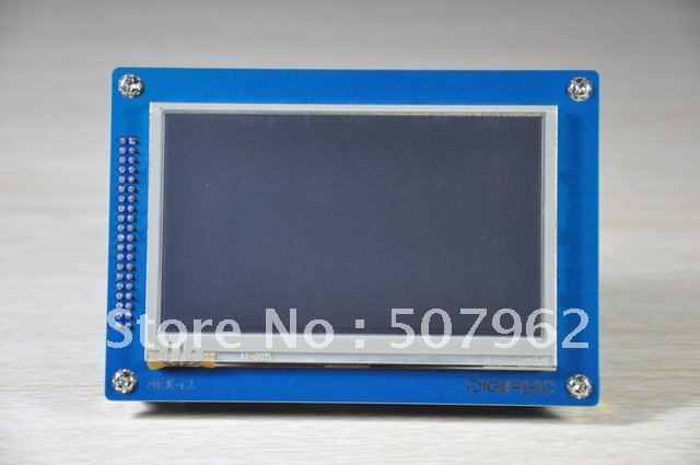 "DIGIASIC 4.3"" touch LCD module for FPGA board"