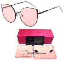 2019 New Luxury Cat Eye Sunglasses Women Lady Italy Brand Designer Vintage Cute Sexy Ladies Sun Glasses For Females UV400 Shades