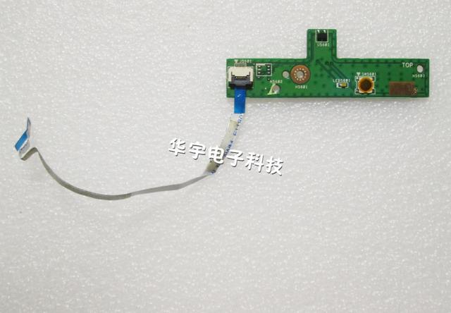 Envío gratis panel de encendido para asus k53sv k53s a53s x53s k53sj k53sd junta interruptor portátil con cable
