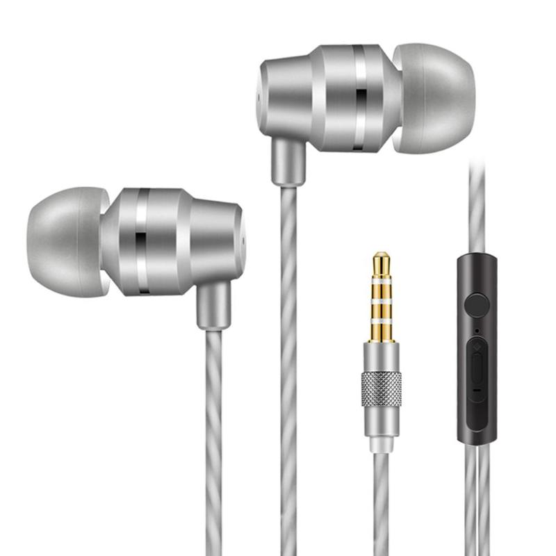 1.2m Earphone 3.5mm Music Earphones Headset In-ear Earbuds Stereo Heavy Bass Headphones Cell Phones Earphone With Earmuffs New iskas headphones bluetooth subwoofer ear phones bass original music technology best new free tecnologia eletronica phone good