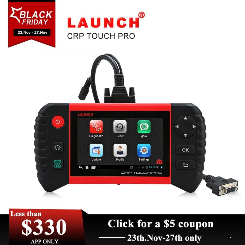Launch Creader CRP Touch Pro полные системы диагностический EPB/DPF/TPMS/сброс услуги/Wi-Fi онлайн-обновление