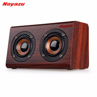 Noyazu Wireless Bluetooth Loudspeaker Mini Handheld Speaker Rock Bass 3D Dual Horn MIC AUX In Voice