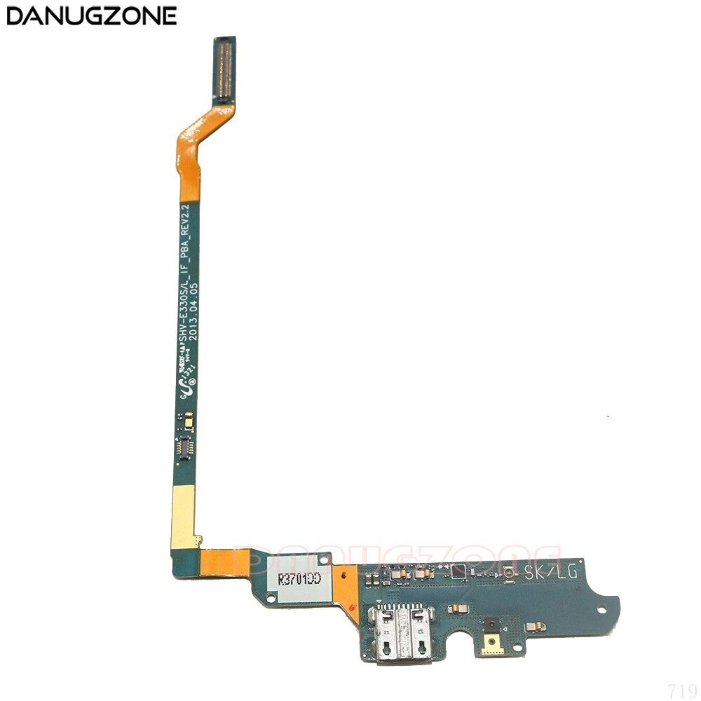 Usb разъем для зарядки, док станция для зарядки, гибкий кабель для Samsung Galaxy S4 E330S E330L SHV E330S/L E300L|Шлейфы для мобильных телефонов|   | АлиЭкспресс