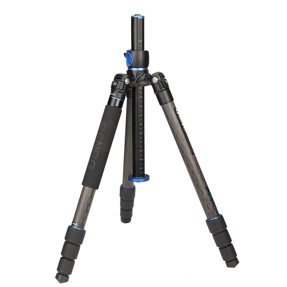 Benro GC268T Professional Tripod Horizontal Axis Tripod For SLR Camera Portable Carbon Fiber Bracket Advanced Photography Device