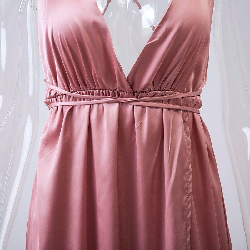 HTB1UUpfNVXXXXcSXXXXq6xXFXXX6 - Off Shoulder Sexy Deep V Neck Beach Style Women Dress Strap Backless Maxi Long Evening Party Dresses JKP028