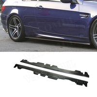Carbon Fiber Side Skirts Trunk Trim For BMW 3 Series E92 E93 M3 2008 2013 Bumper Guard Car Styling