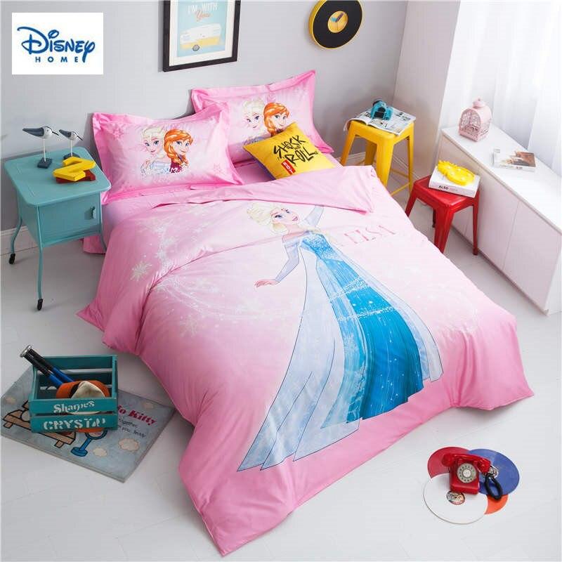 Frozen Elsa Princess Comforter Bedding Sets Twin Size