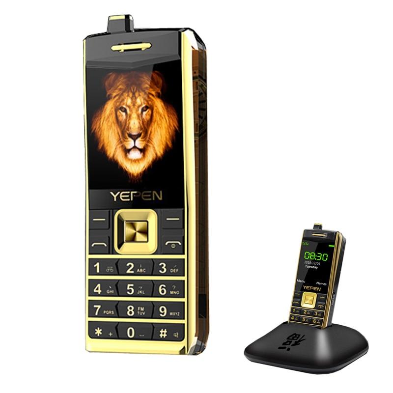 Luxury Retro Dual SIM Cell Phone Bluetooth Dialer Bluetooth Speaker Loud Sound Radio Flashlight Mobile Phones MP3 Telephone