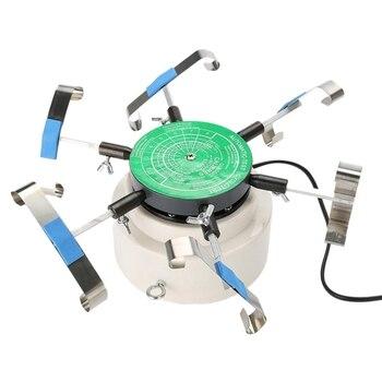 220V Automic-Test Cyclotest Orologio Della Vigilanza Tester Macchina di Prova-Orologi ricariche Per Sei Orologi In Una Sola Volta Ue spina