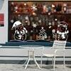 Christmas Glass Door Windows Stickers 78*110cm  4