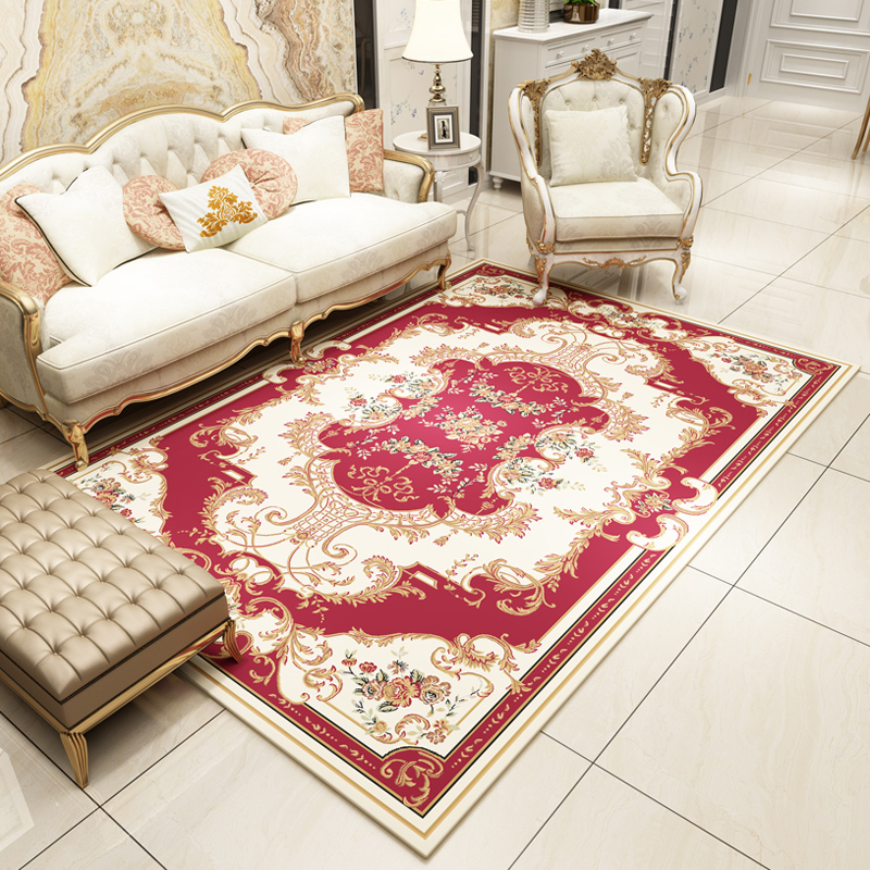 High Quality Fashion Jacquard Carpet footcloth Large Non slip ...
