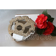 motorcycle parts Left side Engine Stator cover see through For Honda CBR1000RR 2008 2009 2010 2011 2012 2013 Chrome