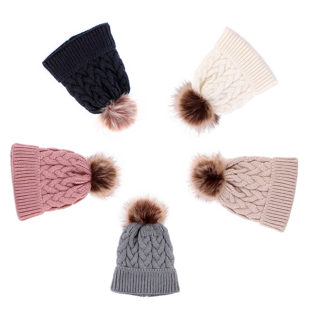 Detail Feedback Questions About Kids Girlboy Warm Knit Hat Winter