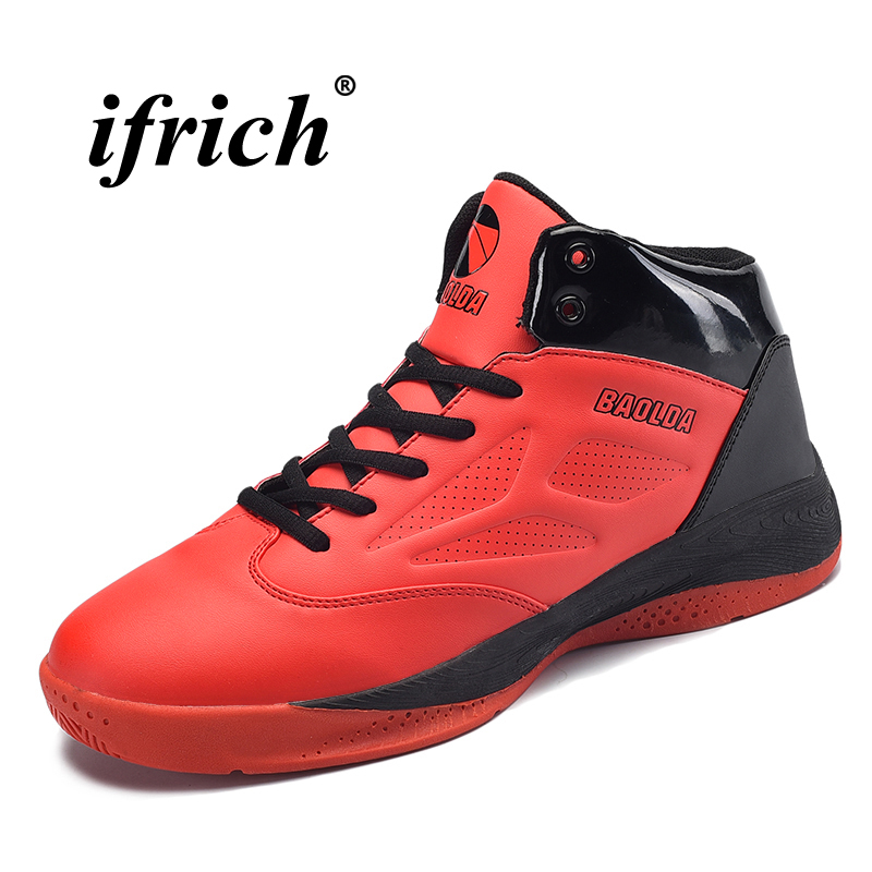 Couples Basketball Shoes Black Blue Training Shoes Men Autumn Winter Woman Footwear Sports Cushioning Basketball Sneakers