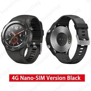 Image 2 - Ban Đầu Toàn Cầu Rom Đồng Hồ Huawei Watch 2 Đồng Hồ Thông Minh Hỗ Trợ 4G/Bluetooth Theo Dõi Nhịp Tim Android IOS IP68 chống Thấm Nước NFC GPS