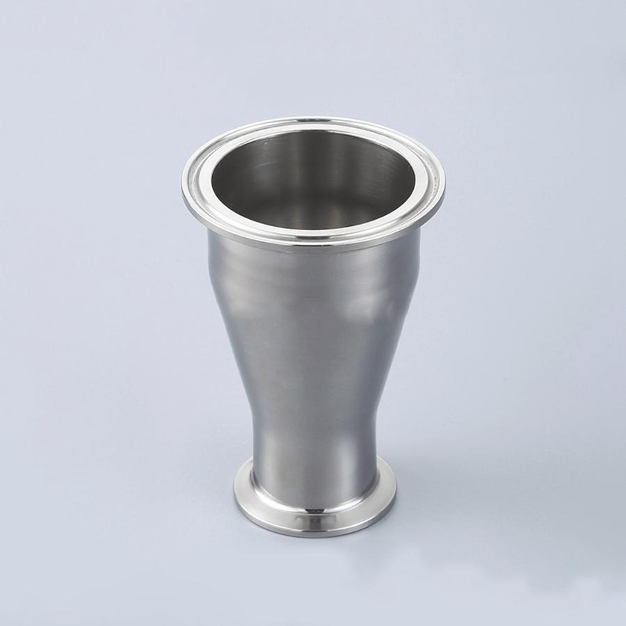 """114mm to 89mm Pipe OD 4.5"""" to 3.5"""" Tri Clamp Reducer SUS 316L Stainless Sanitary Pipe Fitting Homebrew"""