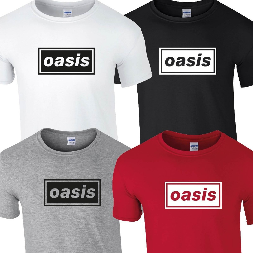 Design t shirt one direction - Oasis T Shirt Top Tee Tshirt Music Liam Noel Gallagher Tour Band Concert Rock Tshirt Tee Shirt Unisex More Size And Colors In T Shirts From Men S Clothing