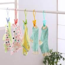 12pcs Lot Rangement Folding Hanging Storage Holders Kitchen Bathroom Racks Flocking Clothes Hanger Easy Hook