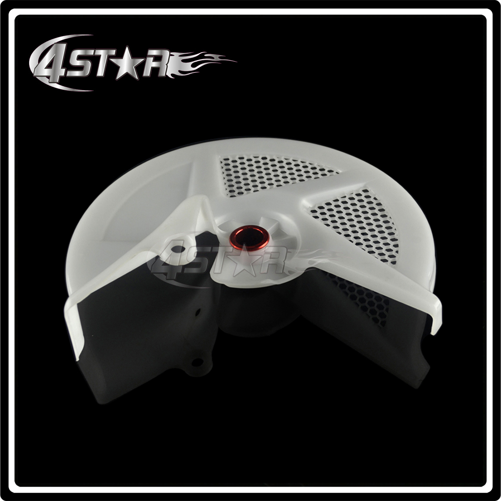 MOTORCYCLE PARTS FRONT BRAKE DISC GUARD PROTECTION COVER FOR CRF250R 10-12 450R 09-12 MOTORCROSS ENDURO DIRT BIKE FREE SHIPPING motorcycle parts killer ybr125s days ago brake drum cover