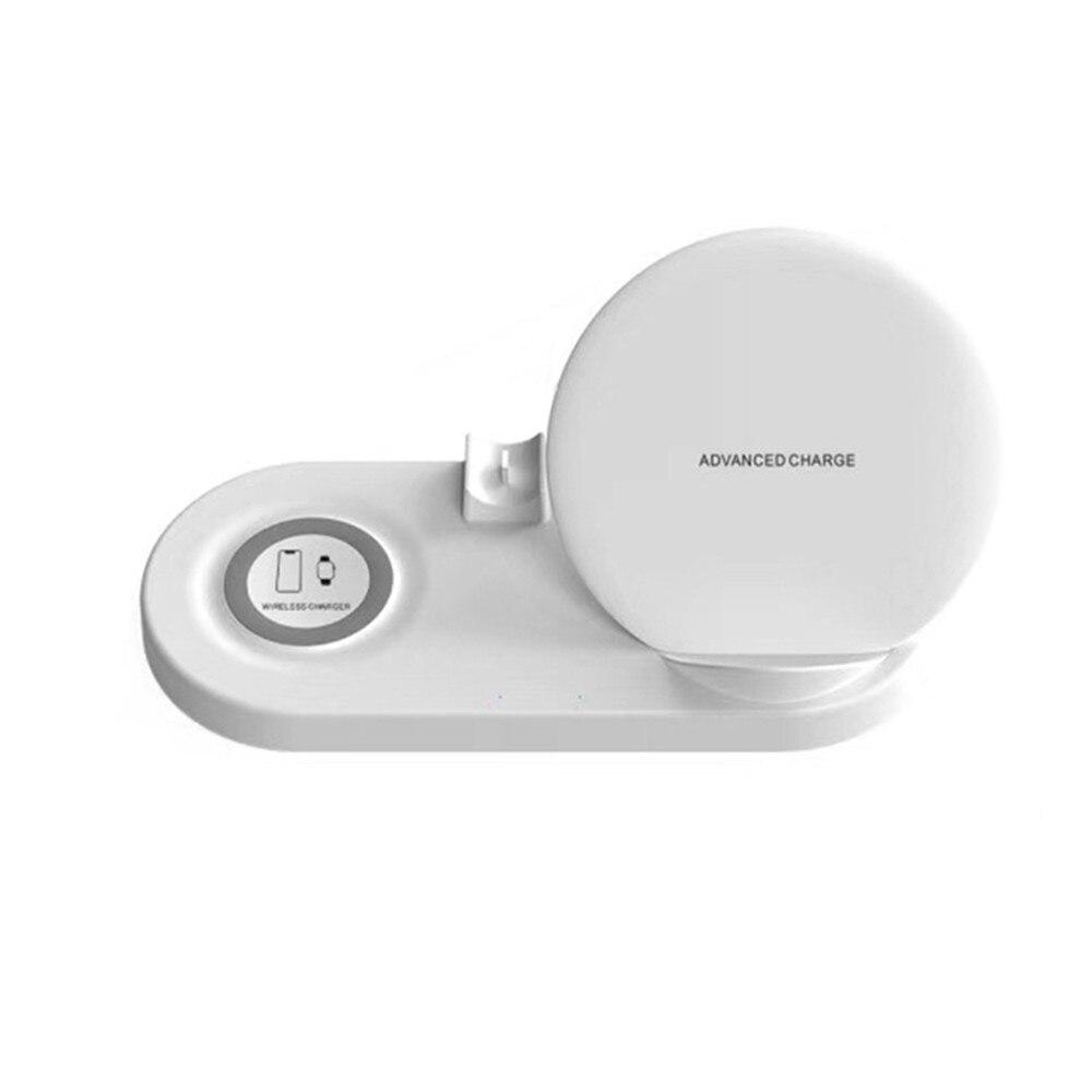 5-en-1 Qi Dock de charge rapide sans fil pour iPhone Android téléphone support de chargeur rapide support pour Apple Watch 4 3 2 1 AirPods