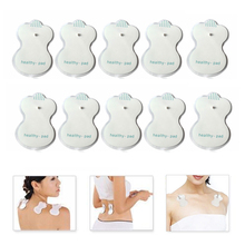 10Pcs Tens Electrodes for Myostimulator Physiotherapy Therapy Machine Pads Slimming Massager Adhensive Gel Health Pad for Tens electric physiotherapy massager myostimulator ten unit 28 modes muscle therapy stimulation adjustable lightweight adhesive gel