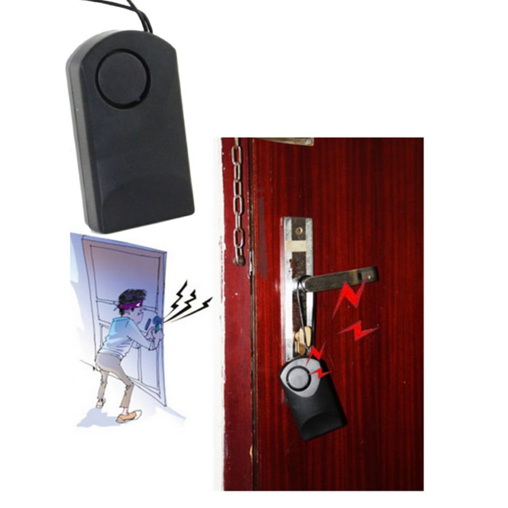 120dB Inductive Alarm of Human Body Wireless Touch Sensor Security Alarm Loud Door Knob Entry Alert Anti Theft portable 120db loud wireless touch sensor door knob entry alarm alert security design hot sale new high quality