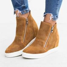 LOOZYKIT 2019 PU Leather Woman Casual Shoes Within The Higher Pure Fashion Side