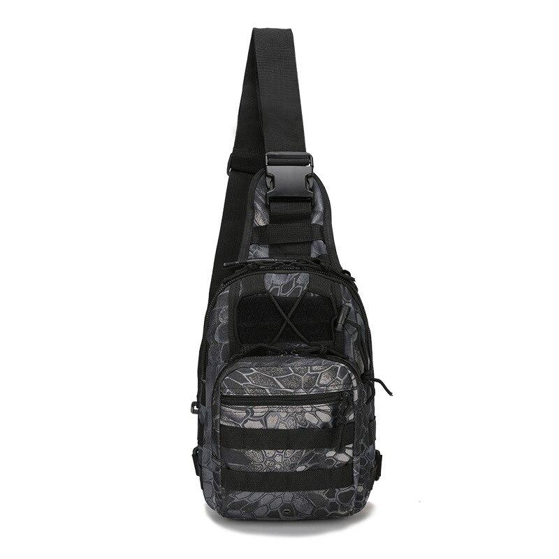Prix pour Haute quaity Petite poitrine sacs épaule d'équitation sac En Nylon camouflage tactique en plein air montagne portable étanche de pêche sacs