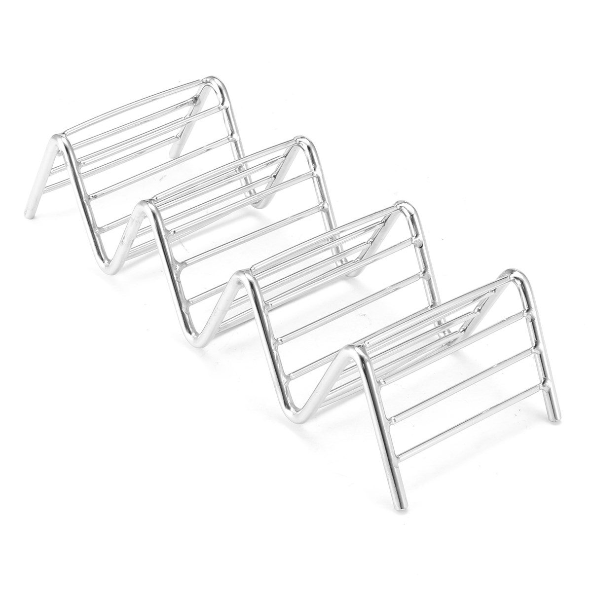 Wave Shape Stainless Steel Corn Roll Stand Taco Holders Mexican Food ...