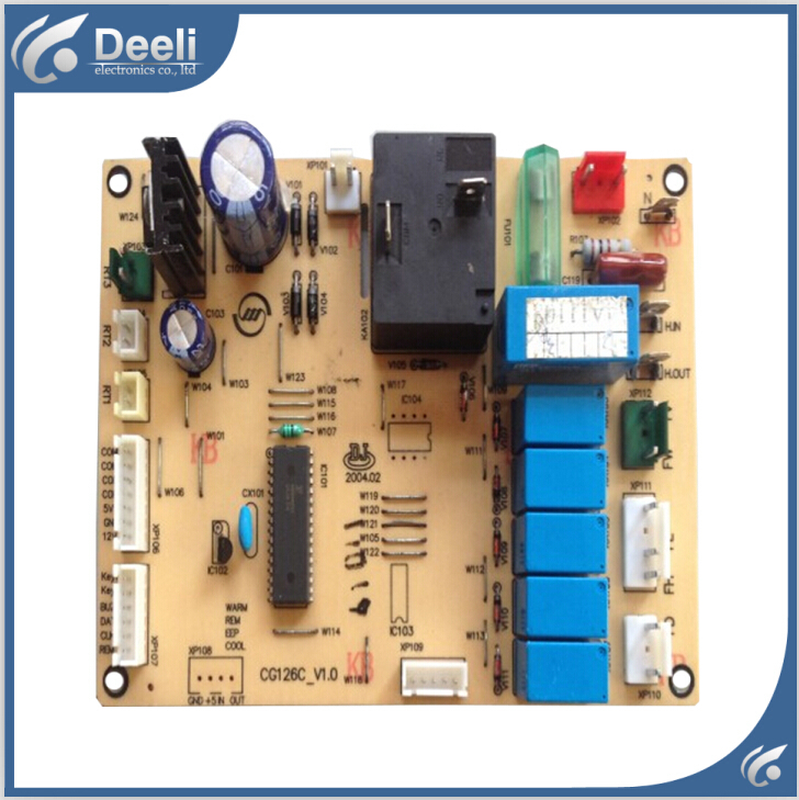 95% new good working for air conditioning KFR-50LW/Vd pc board CG126C-V1.0 motherboard on sale 95% new for air conditioning motherboard pc board pcb05 351 v05 display panel pcb05 314 v05 board good