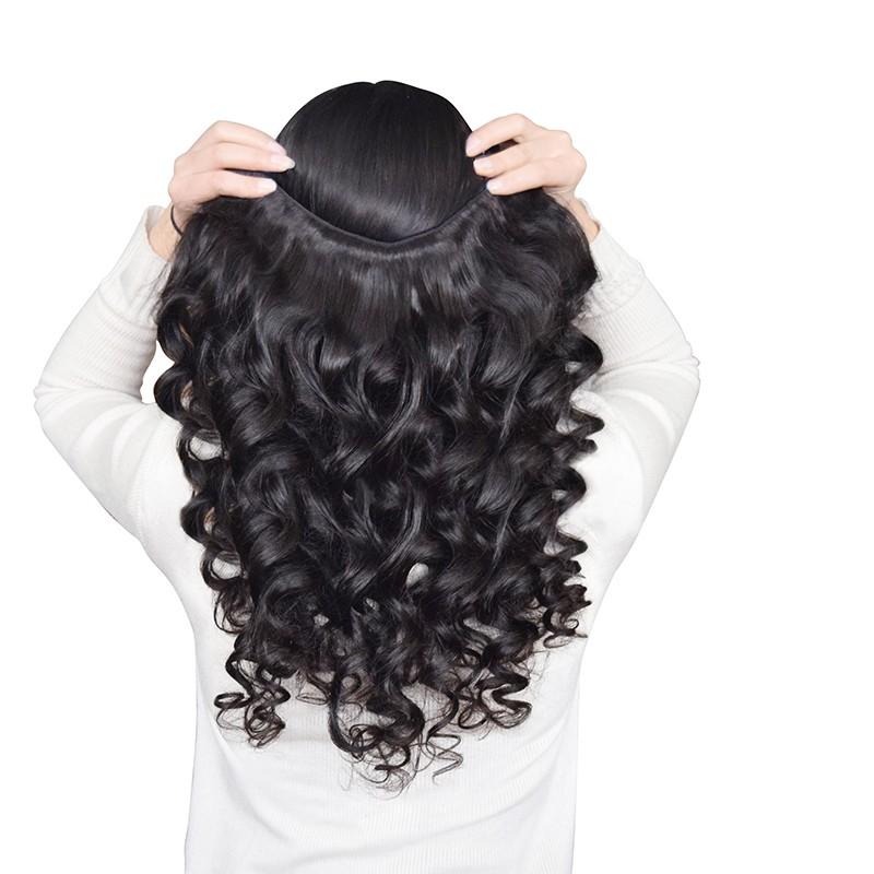 Бразильский объемная ли 4 связки 8а норки бразильский девственные таким объемная ли, роза продукты волос мягкий бразильский человеческих волос ткать связки