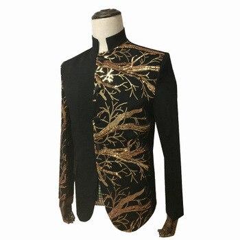 fe8a6ea3504 Зимняя хлопковая куртка для мужчин высокого качества пальто вышивка воротник  стойка Мужчин s жакет с длинным рукавом