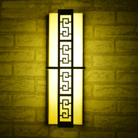 led Wall Mount Outside Wall lamp Pathway Landscape lights European retro exterior outdoor lamp post waterproof lawn aisle