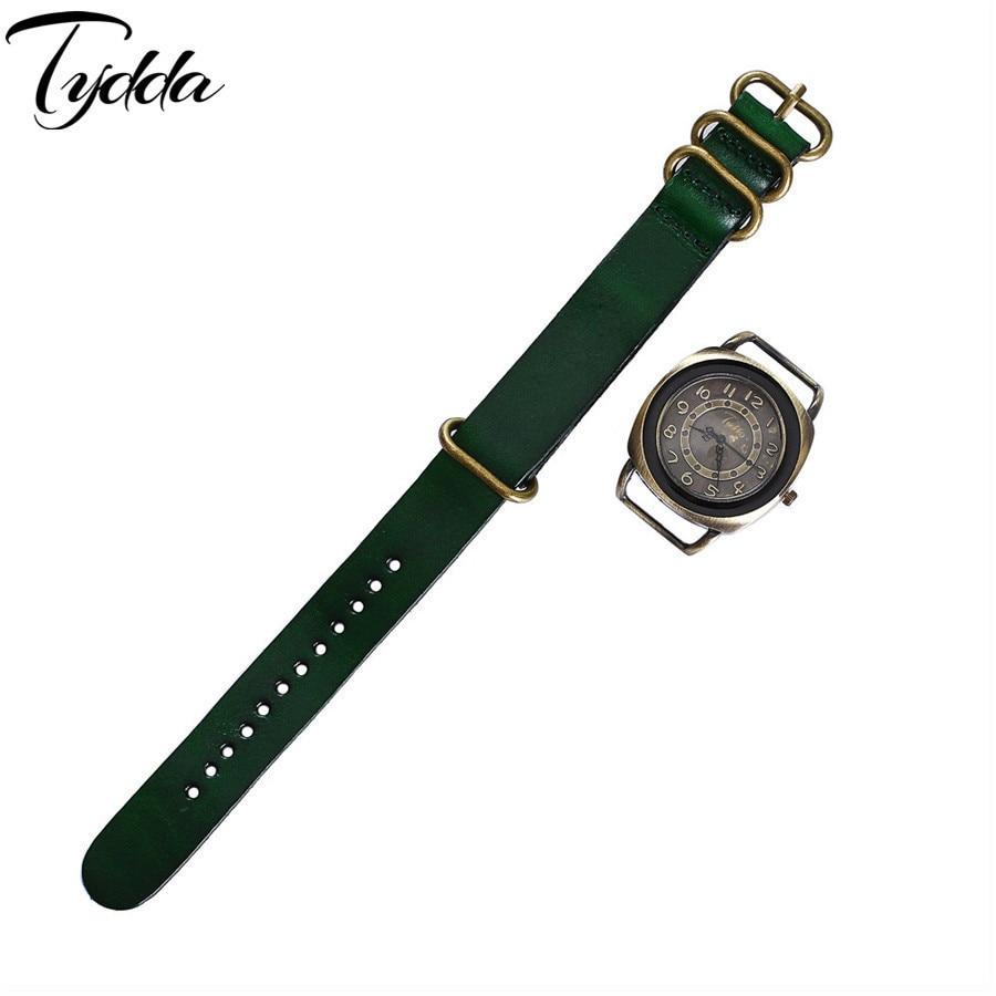 Tydda merk damesmode creatieve lederen armband horloges casual - Dameshorloges - Foto 4