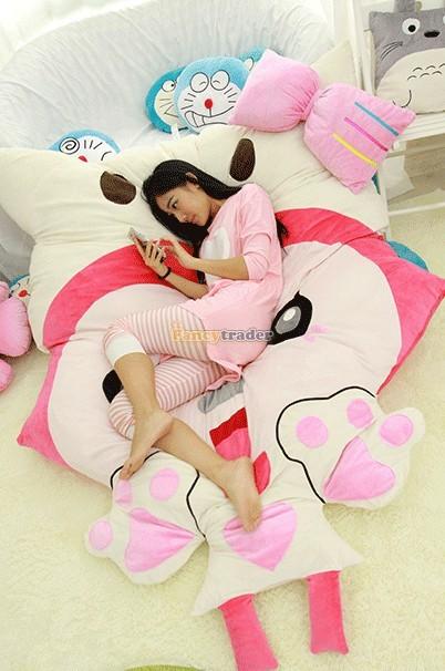 Fancytrader 230cm X 165cm Huge Giant Pink ALI Fox Bed Carpet Sofa Tatami, Free Shipping FT90360 (4)