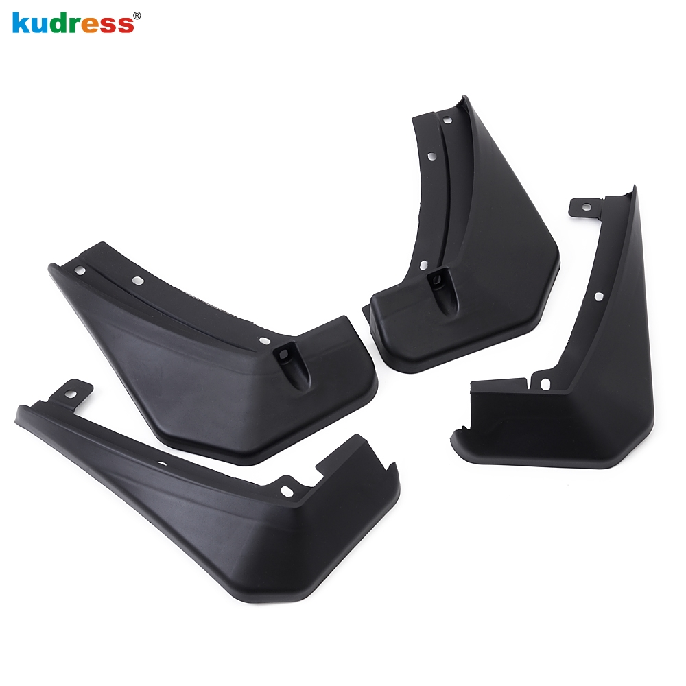 For Skoda kodiaq 2016 2017 2018 Auto Accessories Car Splash Guard Mudguards Fender Dirt Guard Flaps