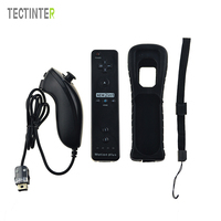 2 In 1 Remote Nunchuk Combo Built In MOTION PLUS For Nintend For Wii Controller Controle