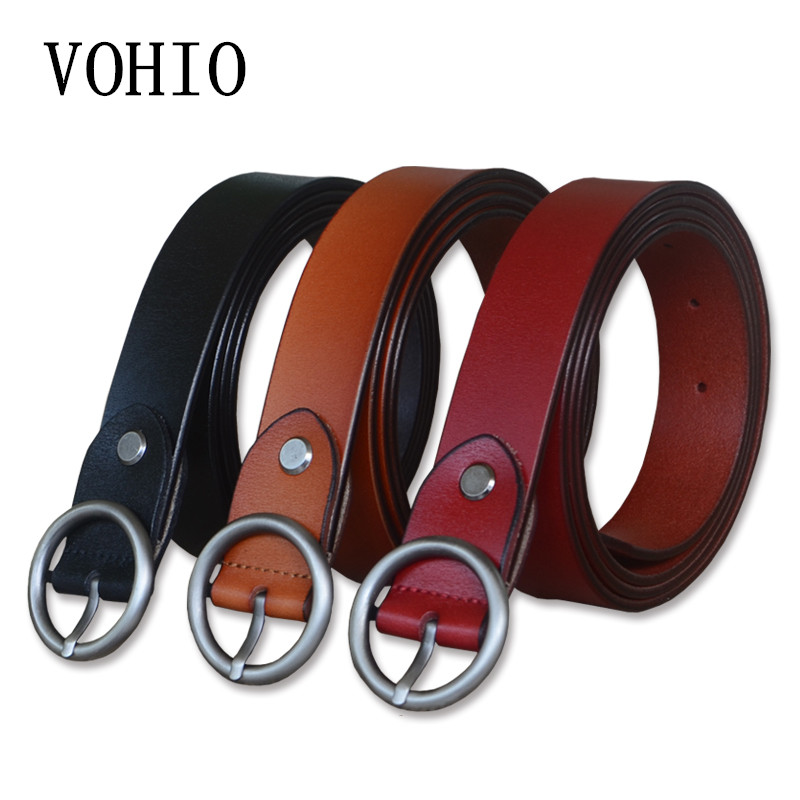 VOHIO New Contracted fashioncintos para as mulheres Lengthened female cinto feminino big size 150CM woman belt vintage for jeans