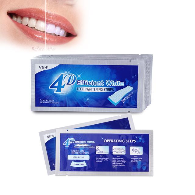 3D Teeth Whitening Strips 28 pcs Set