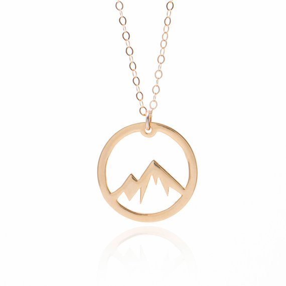 Landscaping mountain pendant 1
