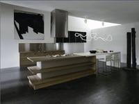 melamine/mfc kitchen cabinets(LH ME022)