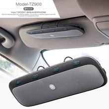 10M Wireless Bluetooth Handsfree Car Kit Speakerphone Audio Music Speaker for iPhone samsung Smartphones
