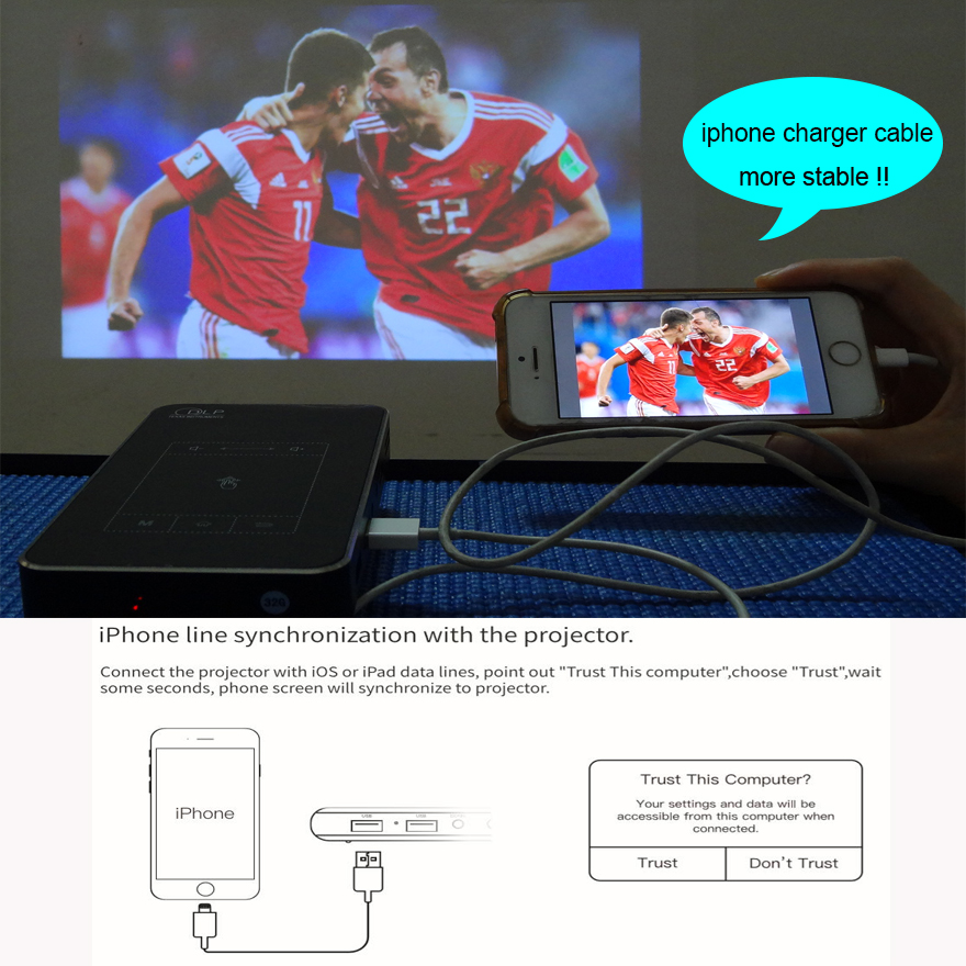 Image 2 - Smartldea T18 (2G+32G) Android 7.1.2 Smart Projector Mini DLP Projector Support AC3 HD 1080P Video Beamer Bluetooth Airplay DLNA-in LCD Projectors from Consumer Electronics